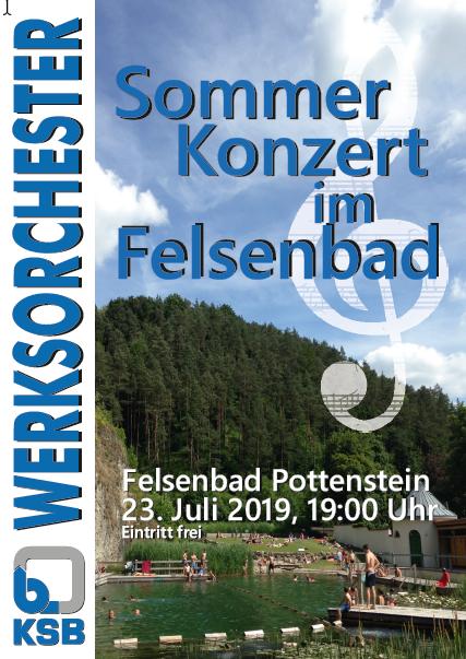 Konzert im Felsenbad – 23.07.2019