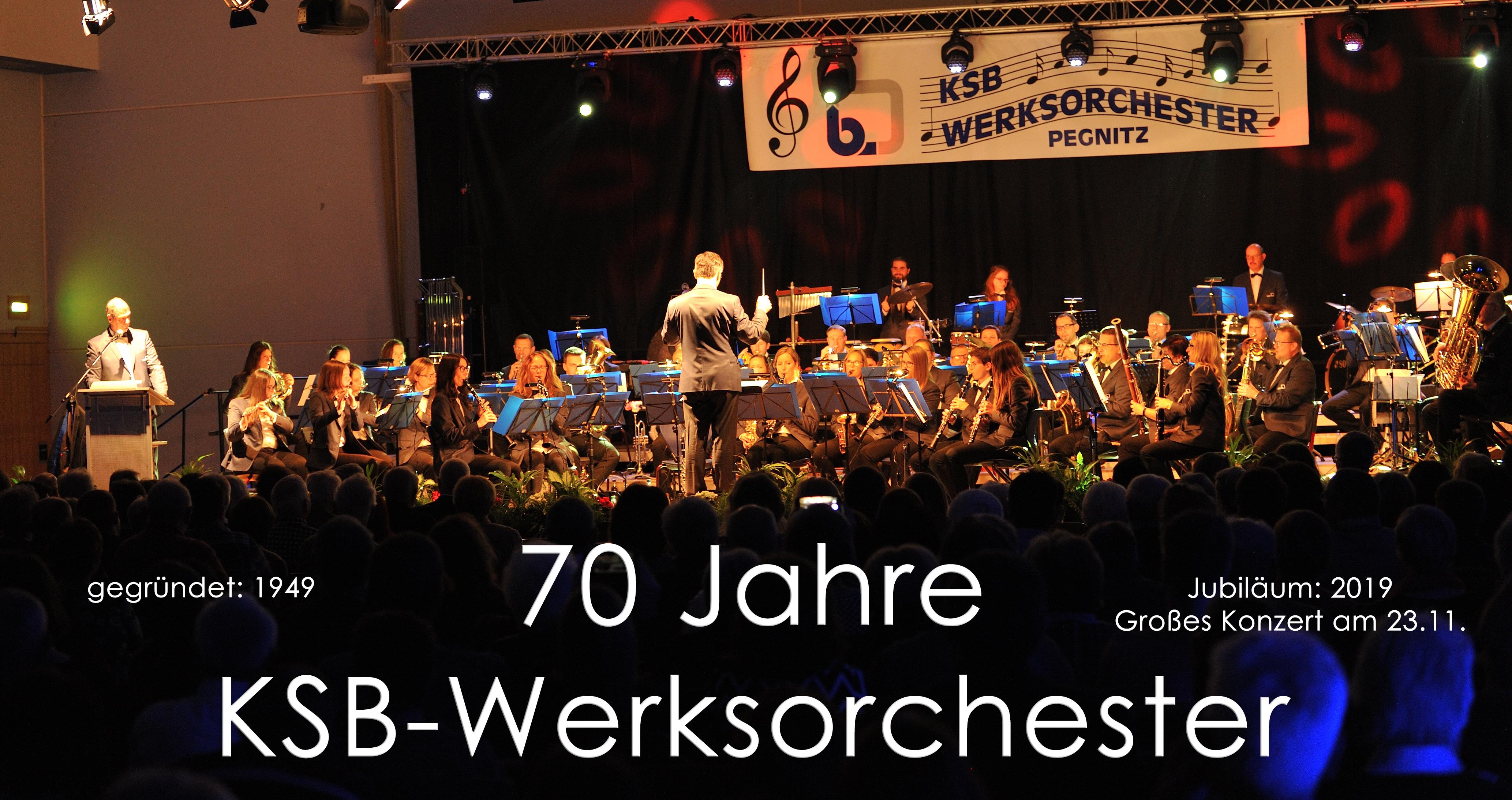 Jahreskonzert – 70 Jahre KSB Werksorchester